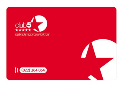 Card Club 5* - Card de fidelitate Club5* Basic