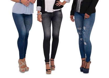 Slim 'n Lift Caresse Jeans  - modne in udobne pajkice